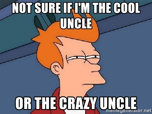 crazy uncle meme